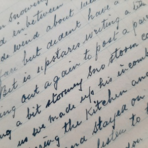 Extract from diary