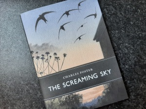 Photograph of the front cover of The Screaming Sky by Charles Foster